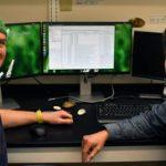 biologist Jordan Richard and epidemiologist Tony Goldberg