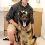 Leon is handled by Chris Hemauer, deputy sheriff with the Manitowoc County Sheriff's Office