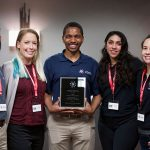 The UW School of Veterinary Medicine chapter of Veterinarians as One Inclusive Community for Empowerment (VOICE) receives the VOICE National Chapter of the Year Award