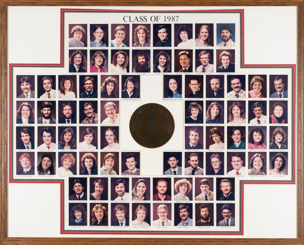UW School of Veterinary Medicine Class of 1987