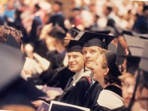UW SVM Class of 1987 graduation ceremony
